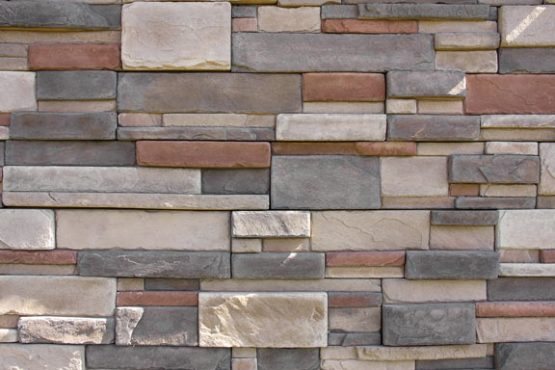 Giles dry stack stone veneer panels installs with screws for Mortarless stone veneer panels