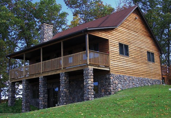 River Stone House M Rock Stone Solutions