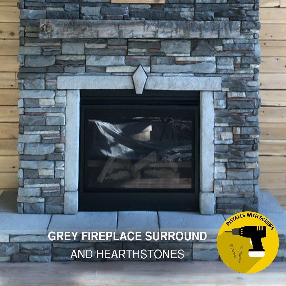 Huntington Ledge Stone and Fireplace Surround