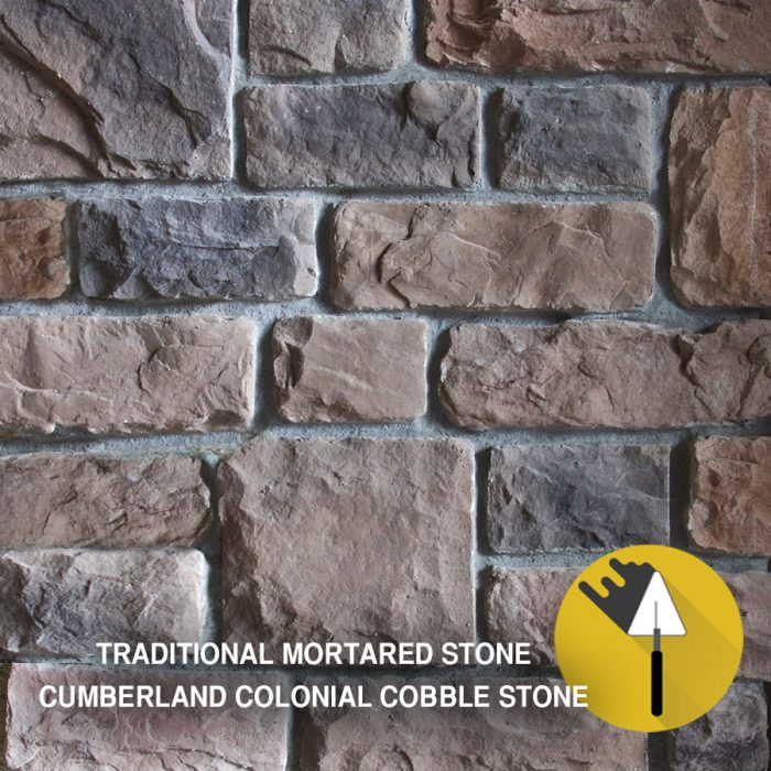 Cumberland Colonial Cobble stone