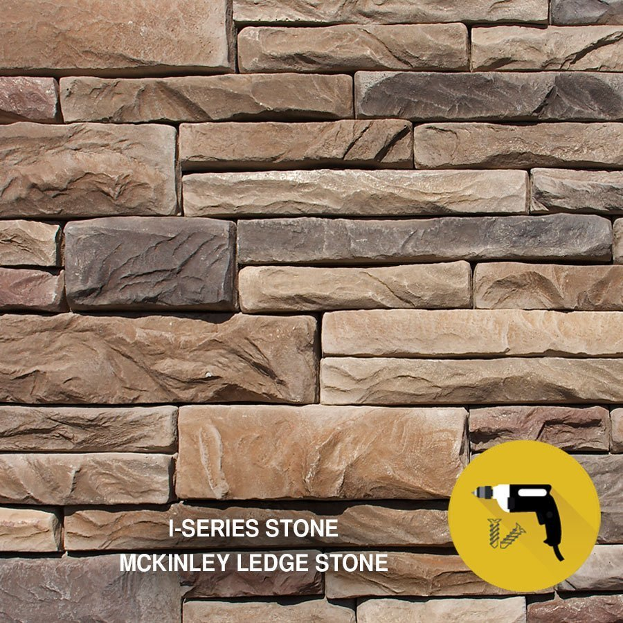 Independent stone that install with screws - I-Series