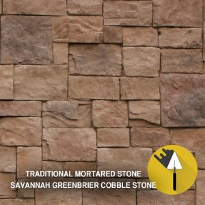 Savannah Greenbrier Cobble Stone