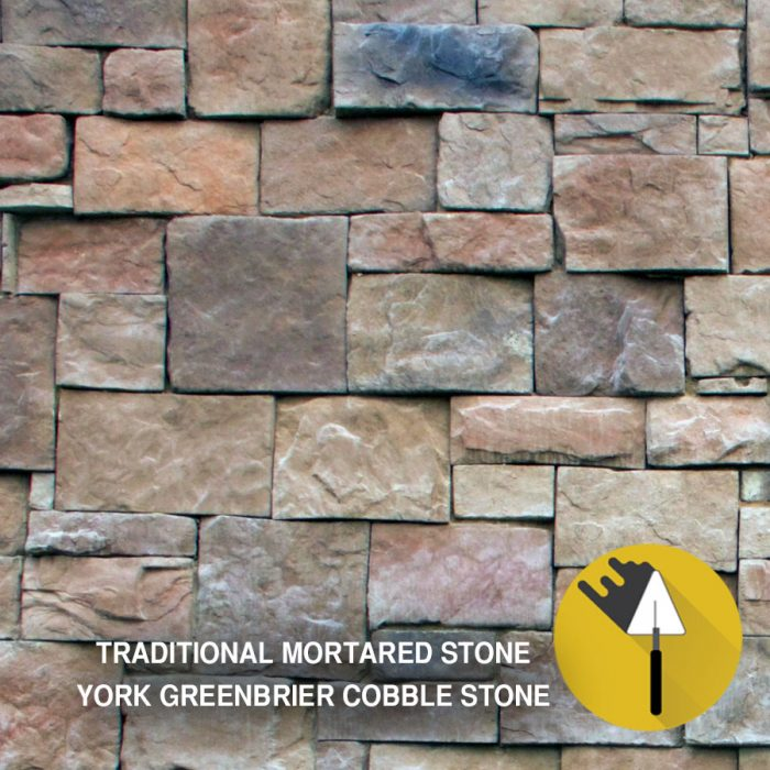 York Greenbrier Cobble Stone