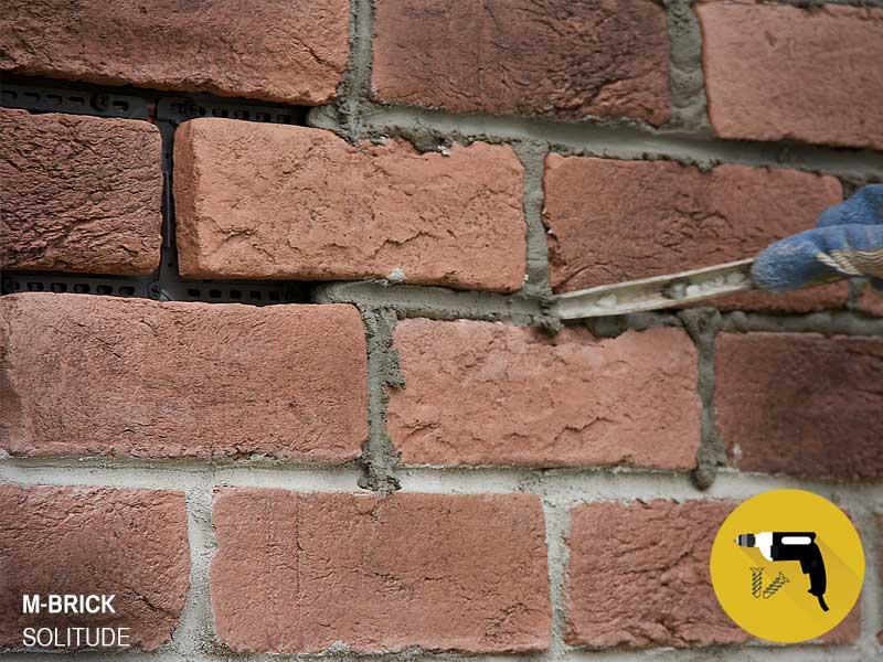 Brick Veneer Thin Natural Looking Brick That Installs With Screws