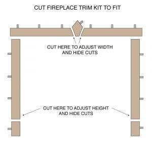 Fireplace Trim Kit