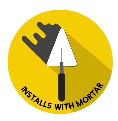 Installs with Mortar