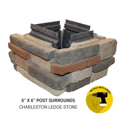 6x6 Post Surrounds Charleston