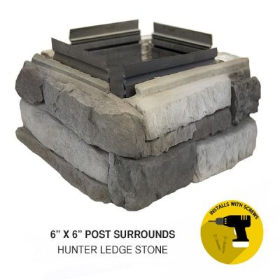 6x6 Post Surrounds Hunter