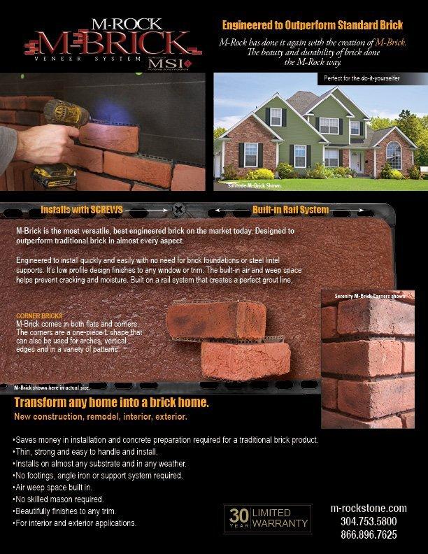 M-Brick Sheet