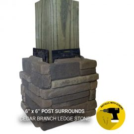 Cedar branch Post Surround