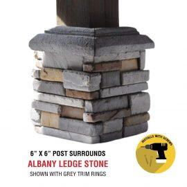 Albany 6x6 post surround